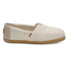 Toms Women's Alpargata Plush Faux Shearling Casual Shoes