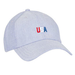 Rowdy Gentleman Men's Usa Tri-color Dad Ball Cap