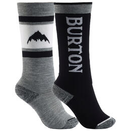 Burton Kids' Weekend Midweight Snowboard Socks 2 Pack