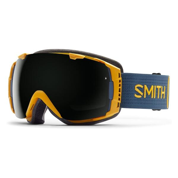 Smith I/O Snow Goggles With Blackout / Red Sensor Lenses