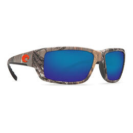 Costa Del Mar Men's Fantail Polarized Sunglasses with Blue Lens