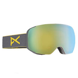 Anon Men's M2 Snow Goggles With Gold Chrome Lens
