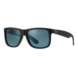 Ray-Ban Justin Classic Sunglasses With Blue Polarized Lenses