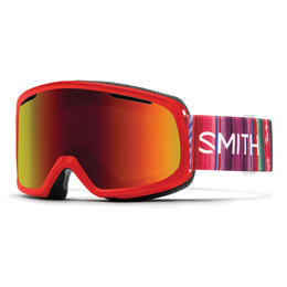 Smith Women's Riot Snow Goggles With Red So
