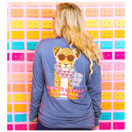 Jadelynn Brooke Women's Born to Be Wild But Only Until 9 PM or So Longsleeve Tee