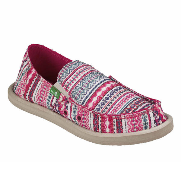 Sanuk Girl's Lil Donna Blanket Slip-On Shoes