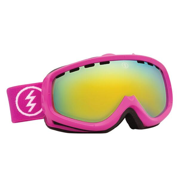Electric Youth EGK Snow Goggles with Bronze/Gold Chrome Lens