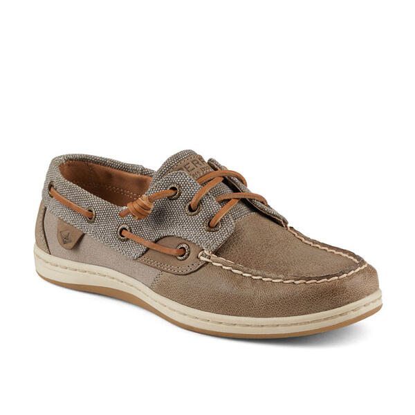 Sperry Women's Songfish Waxy Canvas Casual
