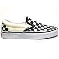 Vans Women's Classic Slip On Checker Casual Shoes alt image view 1