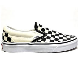 Vans Women's Classic Slip On Checker Casual Shoes