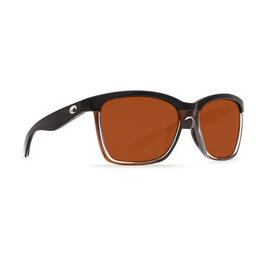 Costa Del Mar Women's Anaa Polarized Sunglasses Black