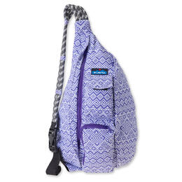 Kavu Rope Bag Backpack Purple Quilt