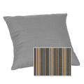 Casual Cushion Corp. 15x15 Throw Pillow - Stanton Greystone alt image view 1