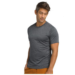 PrAna Men's Hardesty T Shirt, Gravel