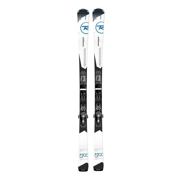 Rossignol Men's Pursuit 200 Carbon All Mountain Skis With Xelium 110 Bindings '16