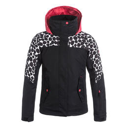Roxy Girl's Jetty Colorblock Snow Jacket