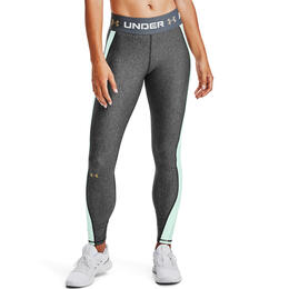 Under Armour Women's HeatGear® Armour Wordmark Waistband Leggings