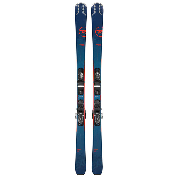 Rossignol Men's Experience 74 Skis with Loo