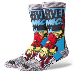 Stance Men's Iron Man Comic Socks