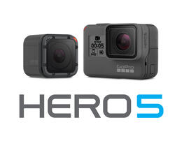 The New GoPro Hero5 Black and Hero5 Session
