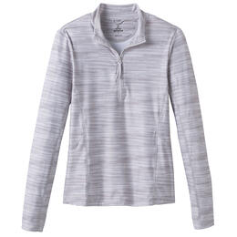 Prana Women's Catarina 1/4 Zip Long Sleeve Sun Top