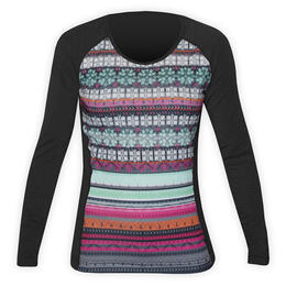 Hot Chillys Women's MTF4000 Print Baselayer Scoopneck Top