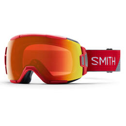 Smith Vice Snow Goggles With Chromapop Red Mirror Lens