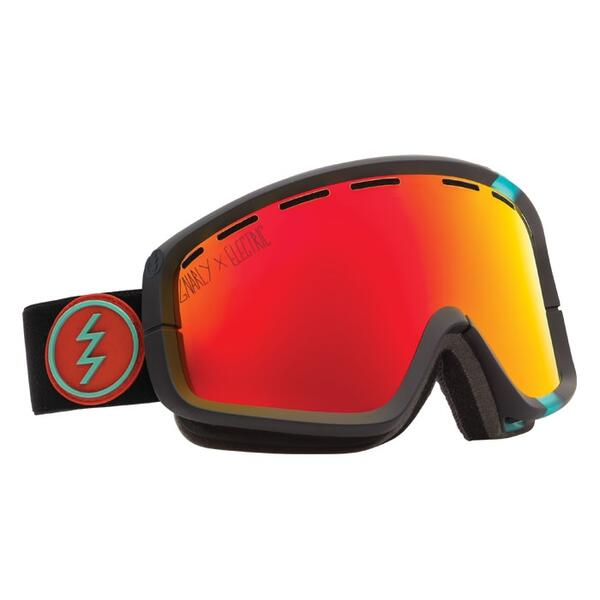 EElectric EGB2 Snow Goggles with Bronze/Red Chrome Lens