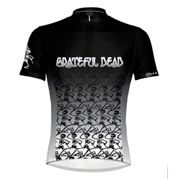 Primal Wear Men's Greatful Dead Skeletons Cycling Jersey