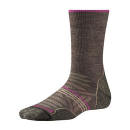 Smartwool Women's PhD Outdoor Light Crew Socks Taupe