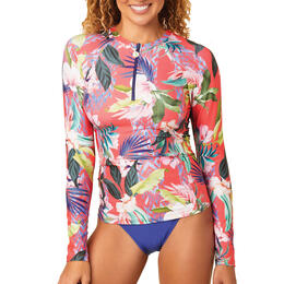 Next By Athena Women's Native Palms Surf Rashguard