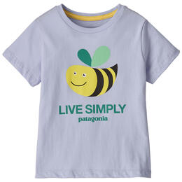 Patagonia Toddler Girl's Live Simply® Organic Cotton T Shirt