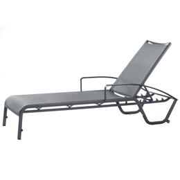 Alfresco Home Maribo Sling Chaise With Arms