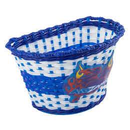 Kidzamo Kid's Woven Bike Basket