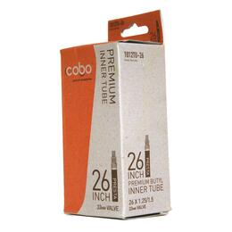 Cobo 26x1.25/1.5 Presta Valve Bicycle Tube