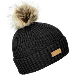 Ski The East Women's Trapper Pom Beanie