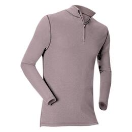 Kombi Kid's Midweight 2-Layer Merino Wool 1/4 Zip Top