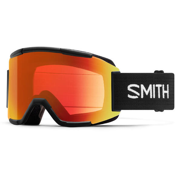 Smith Squad Snow Goggles With Red Mirror Le