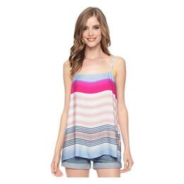 Splendid Women's Tropical Stripe Tank