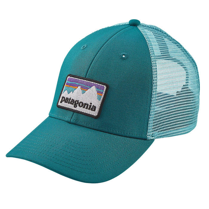 c35c66c47efd8 Patagonia Men s Shop Sticker Patch LoPro Trucker Hat - Sun   Ski Sports