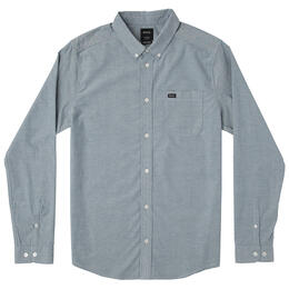 RVCA Men's That'll Do Stretch Long Sleeve Shirt