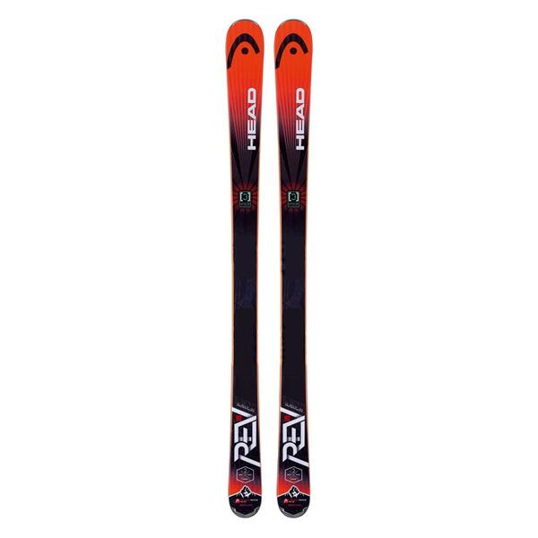 Head men s rev all mountain skis  flat sun ski