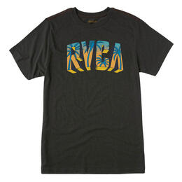 Rvca Men's Block Short Sleeve T-Shirt