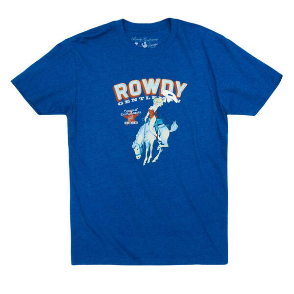 Rowdy Gentleman Men's Cowgirl Enthusiasts T