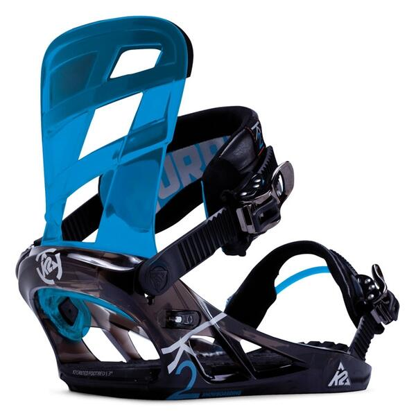 K2 Men's Hurrithane Snowboard Bindings '14