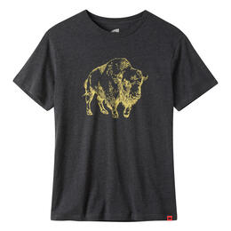 Mountain Khakis Men's Bison Illustration Short Sleeve T Shirt
