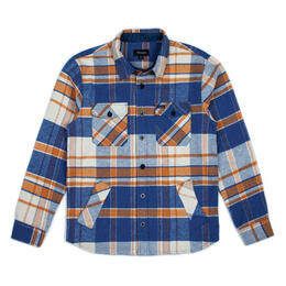 Brixton Men's Durham Long Sleeve Flannel Shirt