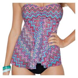 Profile By Gottex Women's Party Time Flyaway Tankini
