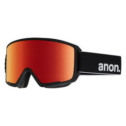 Anon Men's M3 Snow Goggles Red Solex Lens