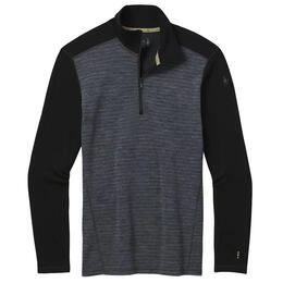 Smartwool Men's Merino 250 Baselayer Pattern Quarter Zip Shirt